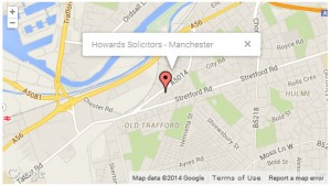 Howards-Solicitors-Manchester-Map