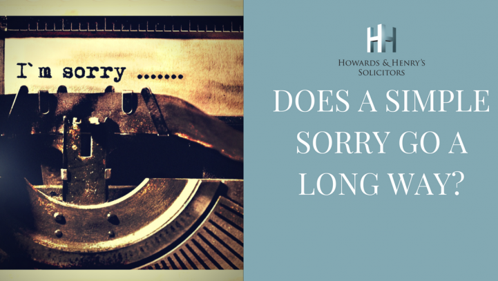 Sorry, Seems To Be The Hardest Word …