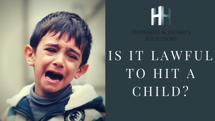 Is it Lawful to Hit a Child?