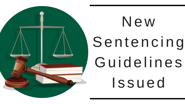 New Sentencing Guidelines Issued