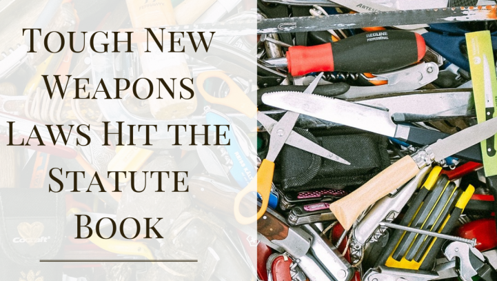 Tough New Weapons Laws Hit the Statute Book