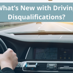 What's New with Driving Disqualifications?